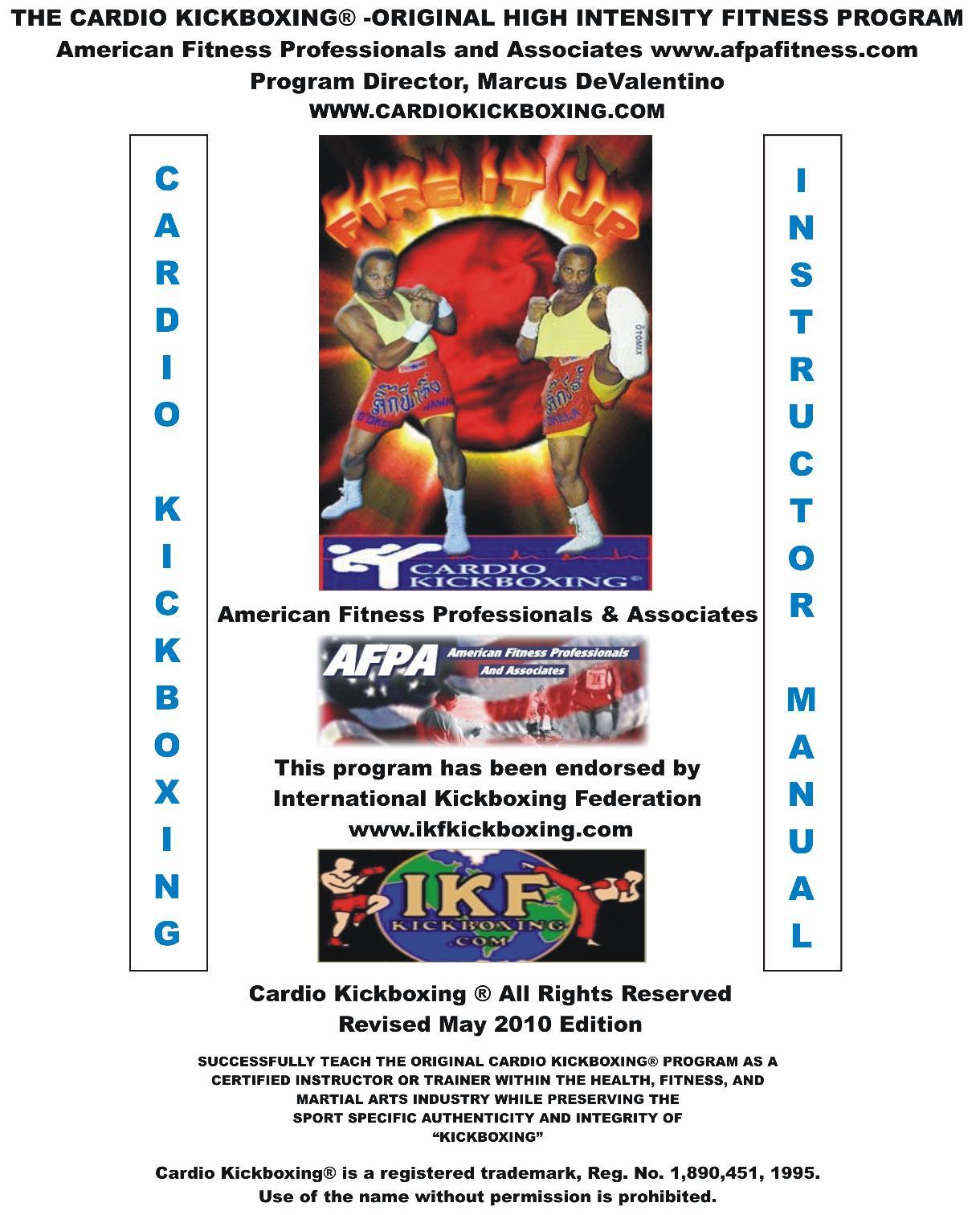 Cardio Kickboxing Home Page